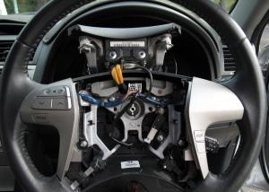Steering wheel control mod