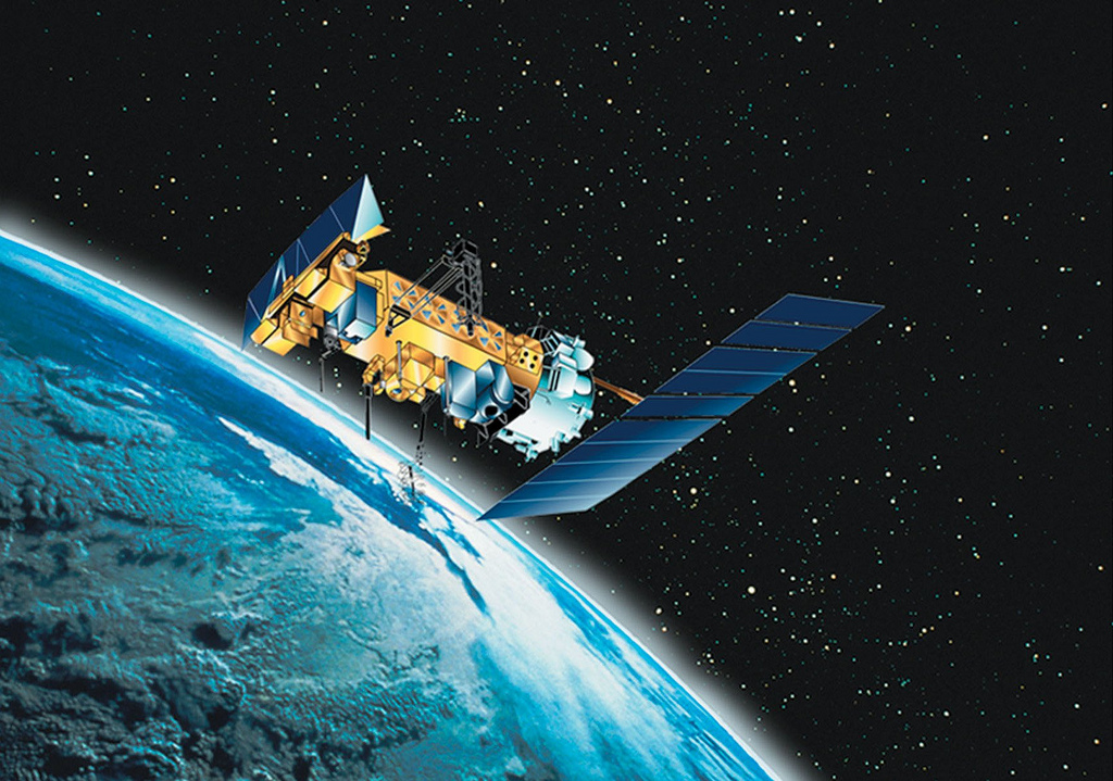 NOAA-N polar-orbiting spacecraft
