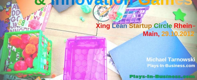 Innovation Games & Lean Startup