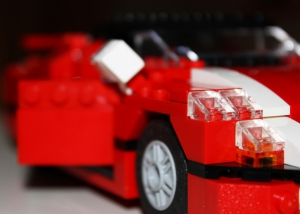 Lego Sport Car 5867 Lights