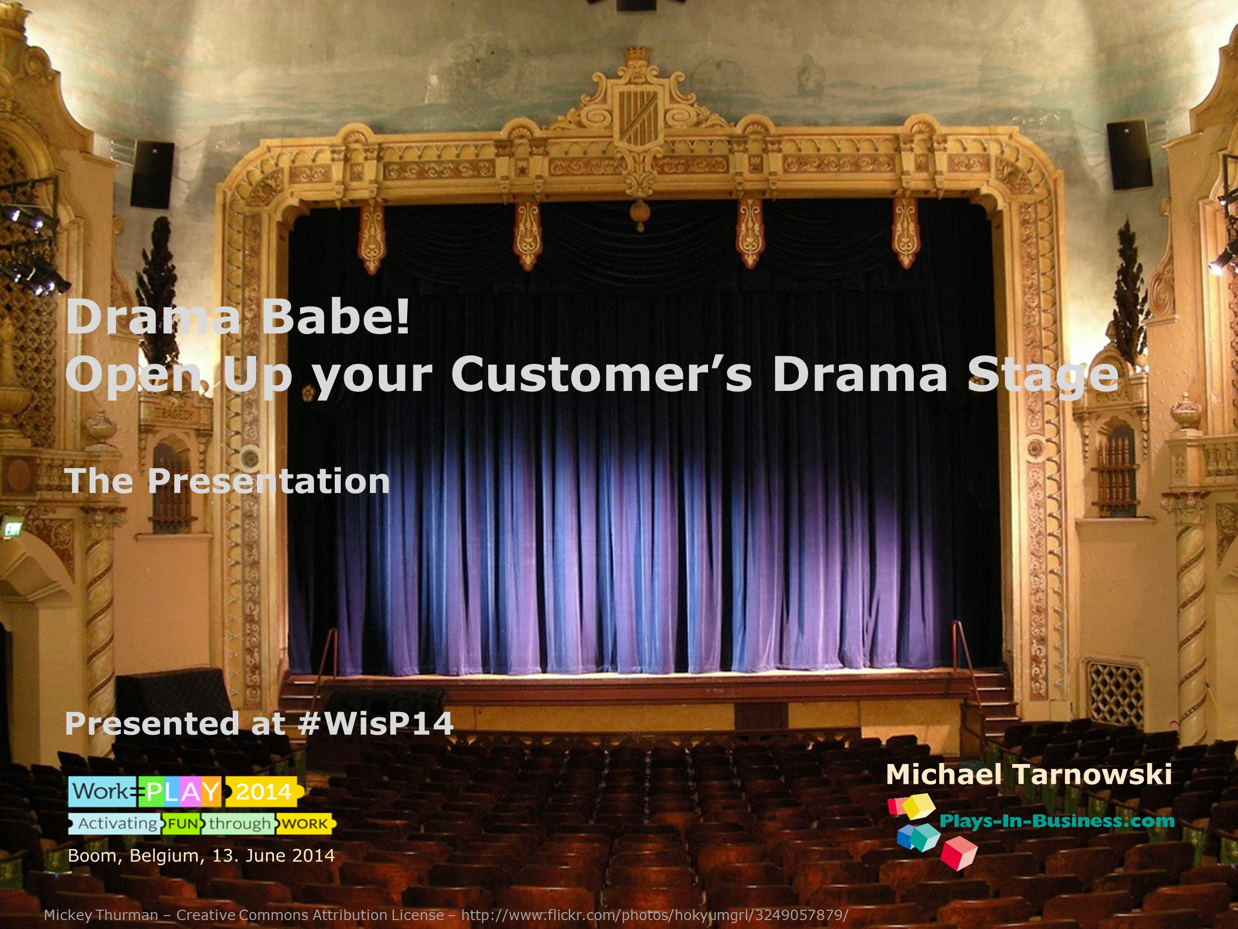 Drama Babe – Open your Customer's Drama Stage