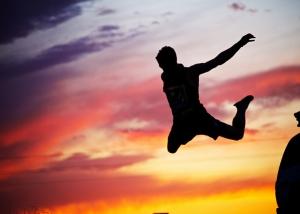 Flying Ninja Man