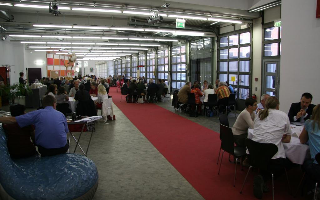 World Cafe im Kulturforum