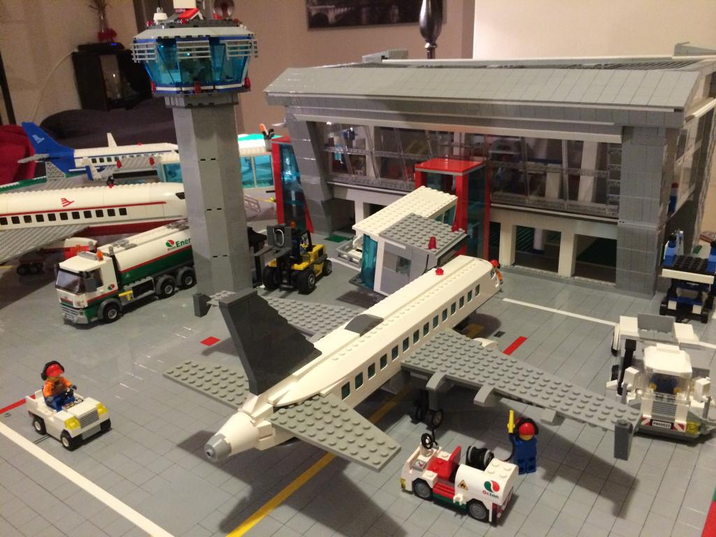 Lego Scrum Airport Plays In Business