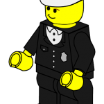 LEGO Minifig Policeman
