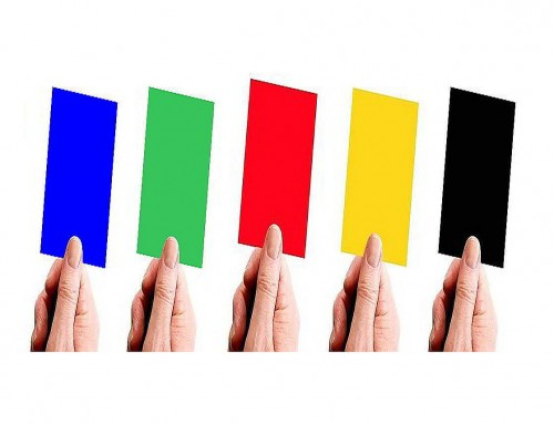 Coloured Cards Voting