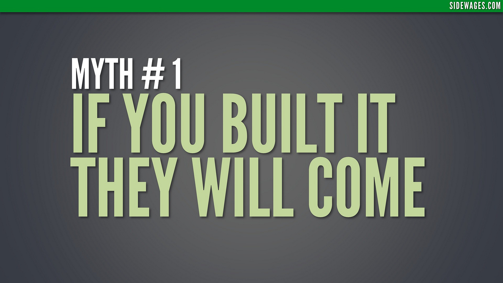 Myth Building a Website