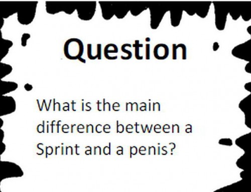 """Agile Black and White Stories"", or What's The Difference between a Sprint and a Penis?"