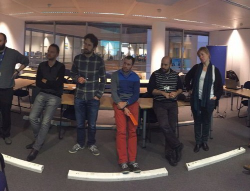 Making a ride of PO Challenge Game @ European Commission