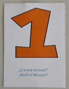 """Self-Facilitation Card """"One"""""""