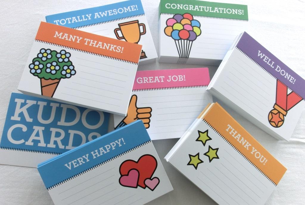 Management 3.0 Kudo Cards