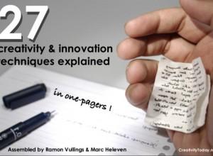 27 Creativity & Innovation Techniques