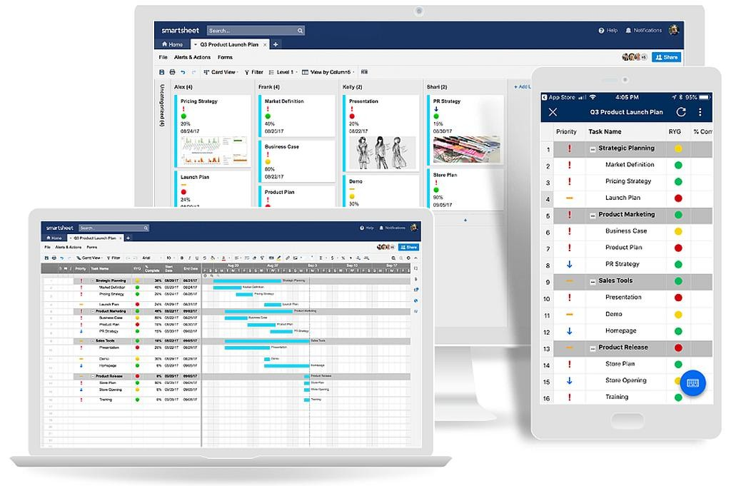 SmartSheet Screen