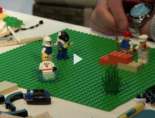 Wahlkampf Mal Anders: Bundestagskandidaten Bauen Lego